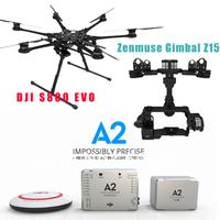 DJI Spreading Wings S800 EVO + Camera Zenmuse Gimbal Z15 +DJI A2 Autopilot Controller Multirotors