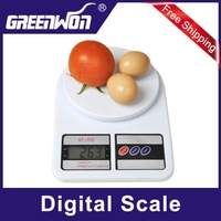 10Kg x 1g Electronic Digital Kitchen Food Postal Weight Scale Balance Digital Scale for Kitchen Balance Weight Scale