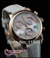 2014 Original Ultra-luxury multifunction original quartz female table lady waterproof sapphire high quality Swiss watches