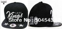 2013 style hip hop cap LAST KINGS snapback hat fashion men women leather bill LK snapbabcks street sport cap drop shipping