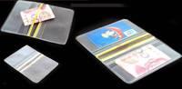 RYDER Outdoor waterproof wallet Unisex PVC Transparent Wallets Purse