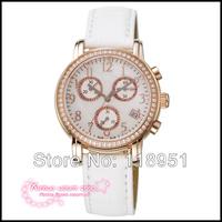 2014 Original The new full-diamond luxury high-quality digital scale multi-function Swiss quartz Sapphire Ladies Watch