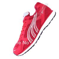 2013 running  jogging  professional marathon  training shoes EU35-44 red, blue color