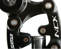 seatpost.bike suspension seatpost.mountain bike seatpost.27.2 31.6.sliver black. 2014 Suntour NCX Seatposts Adjustable sleeve