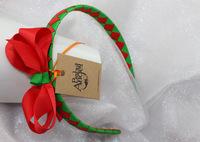 Christmas Ribbon bowknot  head band,free shipping