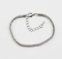 Free shipping (min order 20)  Silver plated copper snakelike  female fashion bracelets