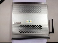 Aluminum PC Computer Case Intel Dual-core 1.8 GHz 500G  4G DDR3 Desktop Video Player Mini PC TV boxes