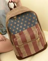 New Vintage Women Girl Retro Rucksack Campus Backpack School Students Bag Bags