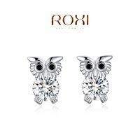 ROXI Exquisite  rose-golen earrings ,earrings for elegant women party  and banquet, new style,best Christmas gifts,2020002275