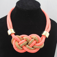 Min.order is $15(mix order) Accessories neon color short design necklace candy color chain  Free Shipping