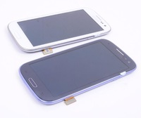 For Samsung Galaxy SIII S3 i9300 LCD With touch screen Digitizer Assembly blue and blue free shipping china 15-26 days +tool
