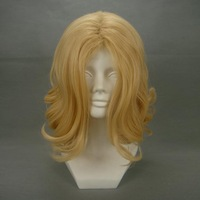 """16"""" Wavy Blonde Cosplay Wig -- Axis Powers France"""