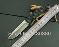 BROWNING small straight hunting knife camping survival knife tactical fixed blade D2 G10 handle sheath free shipping