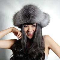 2013 raccoon fur hat ear northeast cap lei feng cap cold thermal female