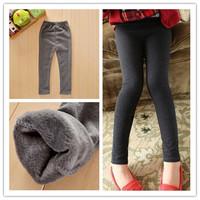 kids girls pants baby girls fashion cotton pants, elastic waist legging pants  autumn winter retail