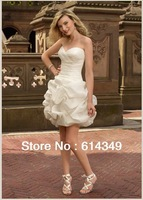 2014 new style! Women's wedding dress, High Quality Style Delicate Chiffon Wedding Dress Bridal Grown, free shipping!!!