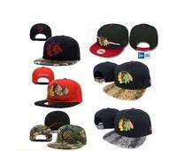 Chromophous nhl strap buckle hockey cap hiphop flat along the cap popular boutique bboy hat