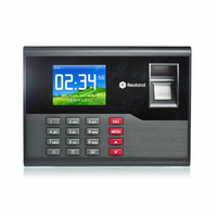 Free shipping Realand TCP/IP TFT Fingerprint Time attendance machine A-C121