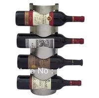 Stainless steel wine racks European creative wall   wine bar rack wine cooler decorating wine bottles rack iron vintage