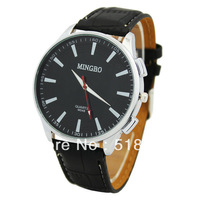 Fashion Big Round Face Style Young Men Boys Sports Quartz Wrist Watch Analog Watches