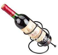 Creative iron wine rack   cooler wine holders decorating   bottles iron glass  stainless bar metal shelf shelf for wine