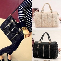 2013 Stylish Lady's MMLOVE PU Handbags Women Bags Lace Bag Wholesale Bags 3890