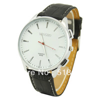 New Round Face Men Boys Sports Quartz Wristwatch  Analog Watches Free Shipping