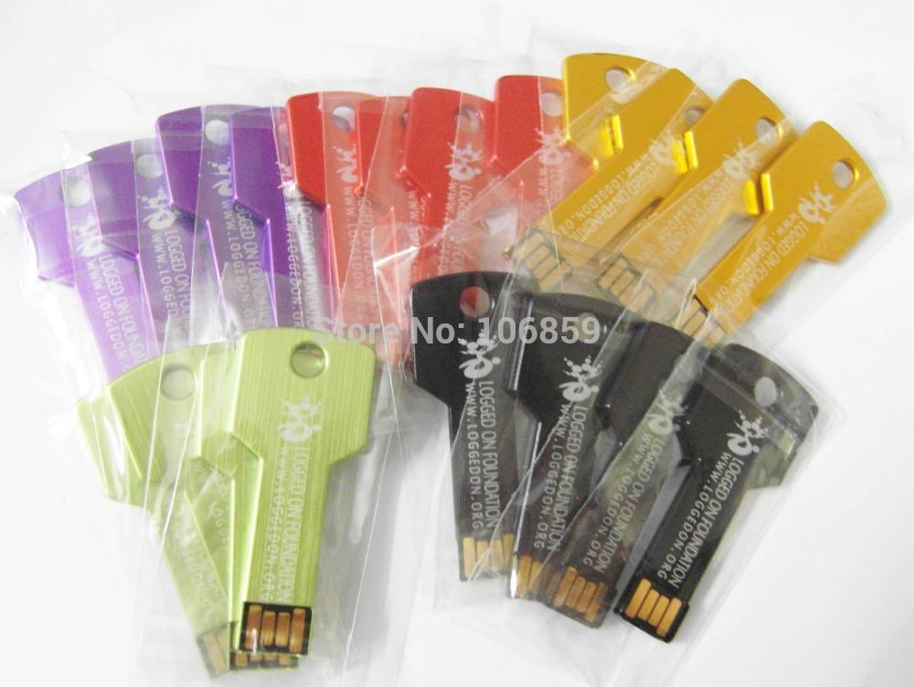 Fashion Design slim Real capacity Smart promotion gift USB Key Drive USB 8GB 4GB + free shipping + Free engrave Customer logo(China (Mainland))