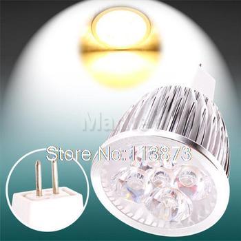 DHL/EMS free shipping 100pcs MR16 GU5.3 PAR20 Warm White 4x3W 12V Home Spotlight LED Spot Light Bulb Lamp