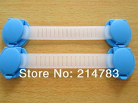 10pcs/lot free shipping baby child kids drawer lock multifunctional safety lock long lock baby safety lock with 3m glue