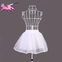 Free shipping white petticoat pannier stage costumes lolita maid uniform necessary PS011