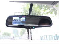 """3.5"""" inch special TFT Car LCD rear View Rearview DVD mirror monitor screen 2CH AV in"""