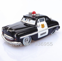 original Pixar cars 2 Toys Diecast 1:55 scale sheriff Free Shipping Kids TOY(China (Mainland))
