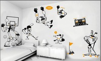 "APOLLO boys/kids "" the whole set of  robot series""  easily removable and  waterproof wall stickers/decor/decal for kids' room"