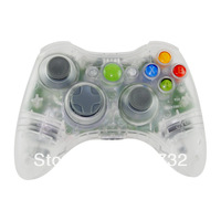 Clear Wireless Controller Shell ONLY Kit for Xbox 360 Tuning