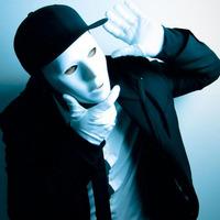 Halloween costumes white hip-hop mask White mask dance