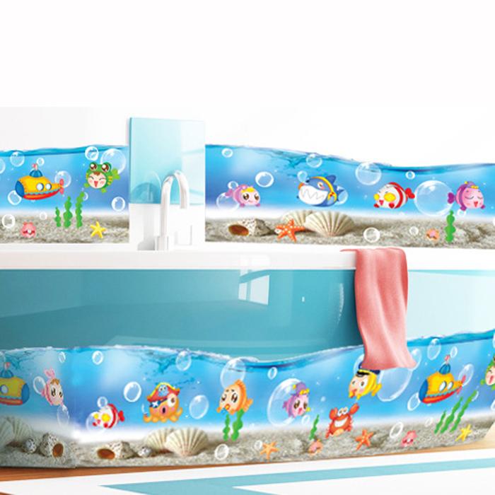 Papier peint en vinyle de salle de bains promotion achetez for Papier peint vinyle salle de bain