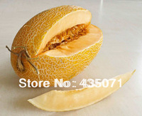 Organic Heirloom 30 Seeds / bag Chinese Hami Melon Seeds Fruit Seeds Grow in Garden Edible Delicious crisp and sweet