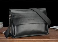 Free shipping FEGER brand designer genuien leather messnger bag , briefcase handbag portfolio ,attache case