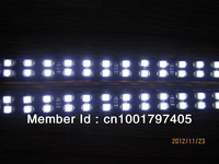 Factory export Two Years Warranty Two-row 72leds/30cm DC12V White Color Waterproof Flexible vehicle strip,freeshipping,5ps/lot
