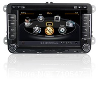 7 inch HD VW magotan Golf Scirocco Passat Sagitar Jetta Car Autoradio dvd gps with 3g wifi 1G CPU