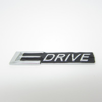Free shipping E-DRIVE metal Plating Car rear Badge Emblem logo sticker beautiful design and easy to install