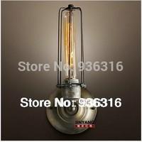 Free shipping American style Edison wall lamp iron lamp light bulb vintage bedside Retro wall lamp,warehouse  wall lamp