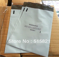 NEW MADE  BAG901-[1100pcs]  overal 16X27CM OR 6.3x10.6inch  White poly mailer bags shipping envelopes one side print