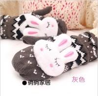 Winter Knitted Lovely Gloves