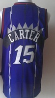 Wholesales/Retail High quality new fabrics Embroidered Toronto #15 Carter basketball jersey 2 Colors,Free shipping