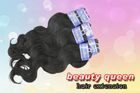 Queen Hair products virgin malaysian hair extensions, Body wave, mixed 4pcs 12inch-28inch + DHL Free Shipping