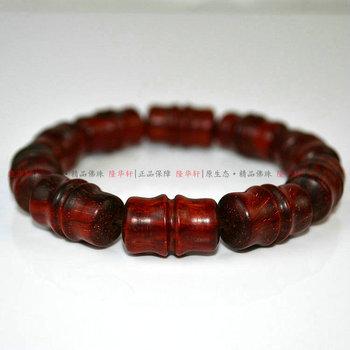Индия очаговая красного сандалового дерева бамбука бисером 12мм fozhu браслеты браслет ограниченным тиражом.