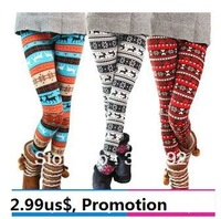 3914 autumn and winter onta legging cotton trousers women's warm boots pants plus size ankle length trousers