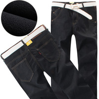 plus size 29-40 velvet winter jeans for men 2013 new arrive men's winter casual pant hight quality warm winter trouser jeans